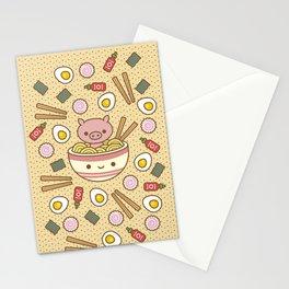 Pig-Chan Ramen Soak Stationery Cards