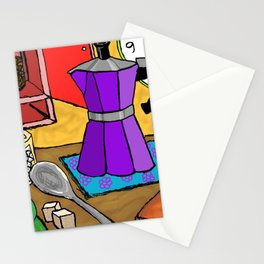 Coffee in Italy Stationery Cards