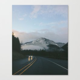 Evening Drives in the Columbia River Gorge Canvas Print