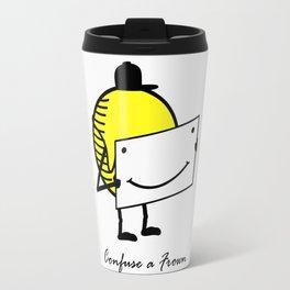 Confuse a frown - Smile VS6 Travel Mug