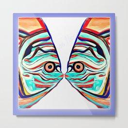 Fish Love Art Metal Print