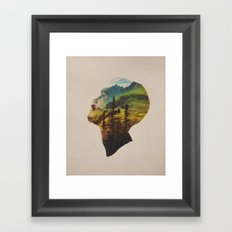 Out Of Mind Framed Art Print
