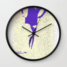 Woman Emerging (k) Wall Clock