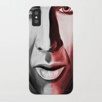 nicolas cage iPhone & iPod Cases featuring Nicolas by ArtChickStudio