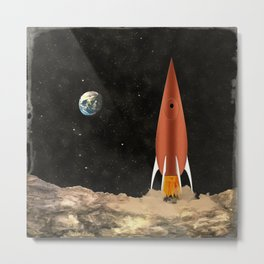 Rocket Metal Print