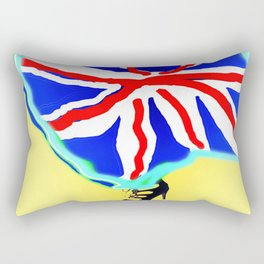 May in May (trouble in politics - Brexit) - shoes stories Rectangular Pillow
