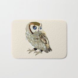 Blind Owl Bath Mat