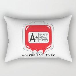 You're my type Rectangular Pillow