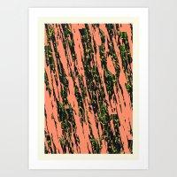 Bug Stripe Art Print