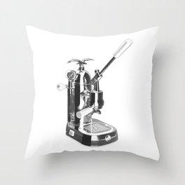 Romantica La Pavoni Professional Lever Espresso Machine Throw Pillow