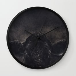 Tinsi cow Wall Clock