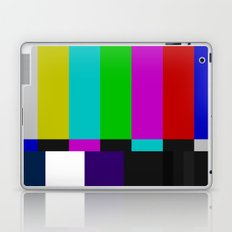 SMPTE Color Bars (as seen on TV) Laptop & iPad Skin