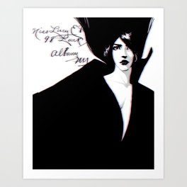 Miss Lucy Art Print