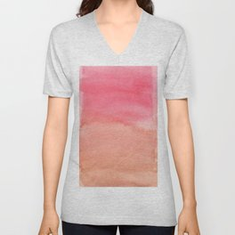Color Blocking 8 Unisex V-Neck