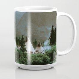 Blackfoot Camp Up the Cutbank in Montana Coffee Mug