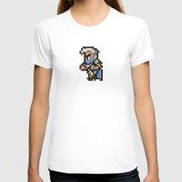 final fantasy T-shirts featuring Final Fantasy II - Edge by Nerd Stuff