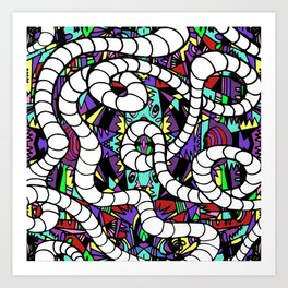 Tubular Art Print