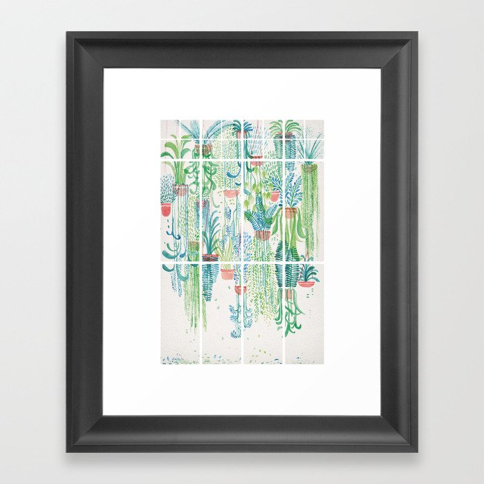 Winter in Glasshouses II Gerahmter Kunstdruck