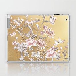 Chinoiserie Gold Laptop & iPad Skin