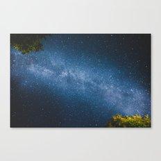 ocean of stars // Austria Canvas Print