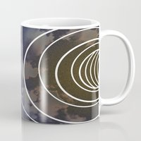 moon phases Mugs featuring Moon Phases by rollerpimp