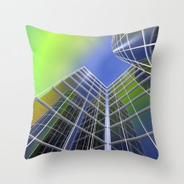 look into the sky -3- Throw Pillow