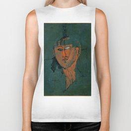 "Amedeo Modigliani ""Red Head (Tête rouge)"" Biker Tank"