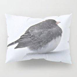 Brave Bird in a Blizzard Pillow Sham