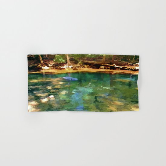 Glistening Pond Hand & Bath Towel