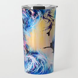 Falling Towards The Sky Travel Mug