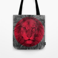 eric fan Tote Bags featuring Wild 5 by Eric Fan & Garima Dhawan by Garima Dhawan