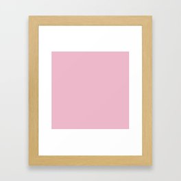 Cameo Pink Framed Art Print
