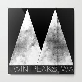 Twin Peaks, WA (White Lodge) Metal Print