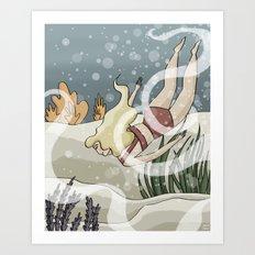 Bottom of the Sea II Art Print