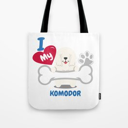 KOMODOR Cute Dog Gift Idea Funny Dogs Tote Bag