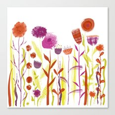 Mixed up Meadow Canvas Print
