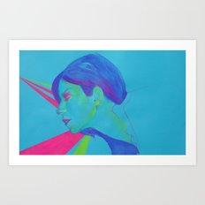 Bubblegum B Art Print