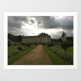 Chateau de Chenonceau 1 Art Print