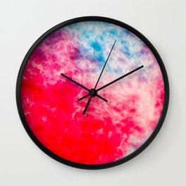 Watercolor Musings I Wall Clock