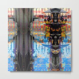 Akin to recalling, instead; understood mimicry. 09 Metal Print