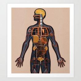 Homo Machina | The map Art Print