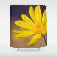 silence of the lambs Shower Curtains featuring Silence by Light Wanderer