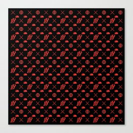 DP pattern Canvas Print