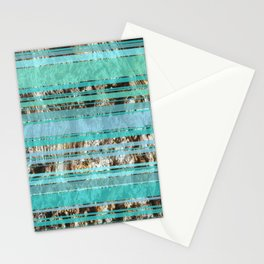 Blue & Wood Stationery Cards