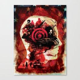 Post Traumatic Stress Disorder Canvas Print