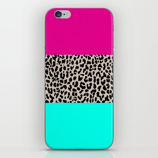 Leopard National Flag iPhone & iPod Skin