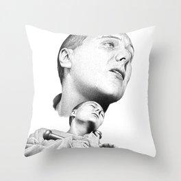La Passion de Jeanne d'Arc Throw Pillow