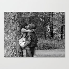 Tree Huggers Canvas Print