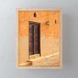 Al Ain Palace Museum 2 Framed Mini Art Print