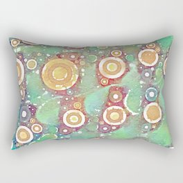 Midori Fizz Rectangular Pillow